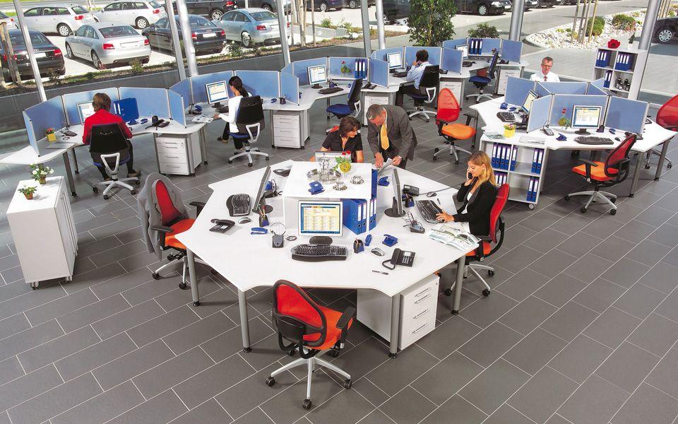 Möbelprogramm »Teamarbeitsplatz« -