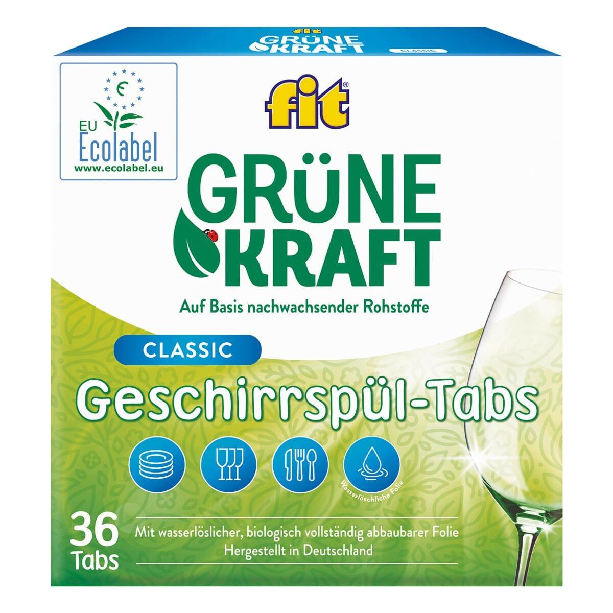 fit GRÜNEKRAFT Geschirrspültabs »Classic«
