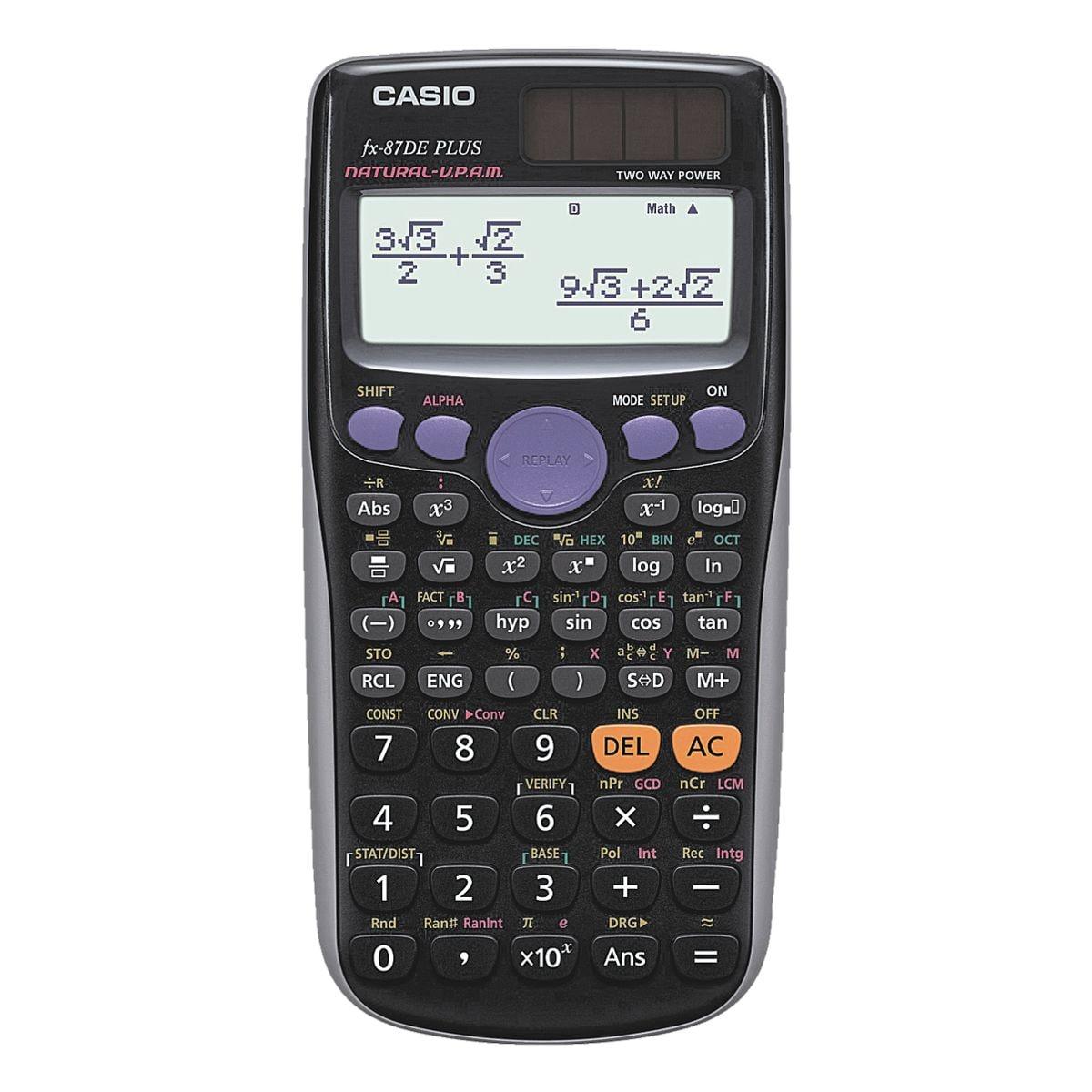 CASIO Schulrechner »FX-87DE plus«