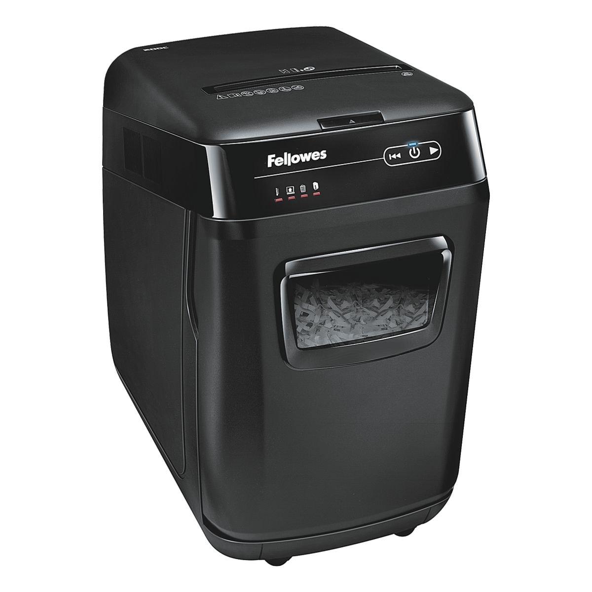 Aktenvernichter Fellowes AutoMax 200C, Sicherheitsstufe 4, Partikelschnitt (4 x 38 mm) bis 200 Blatt