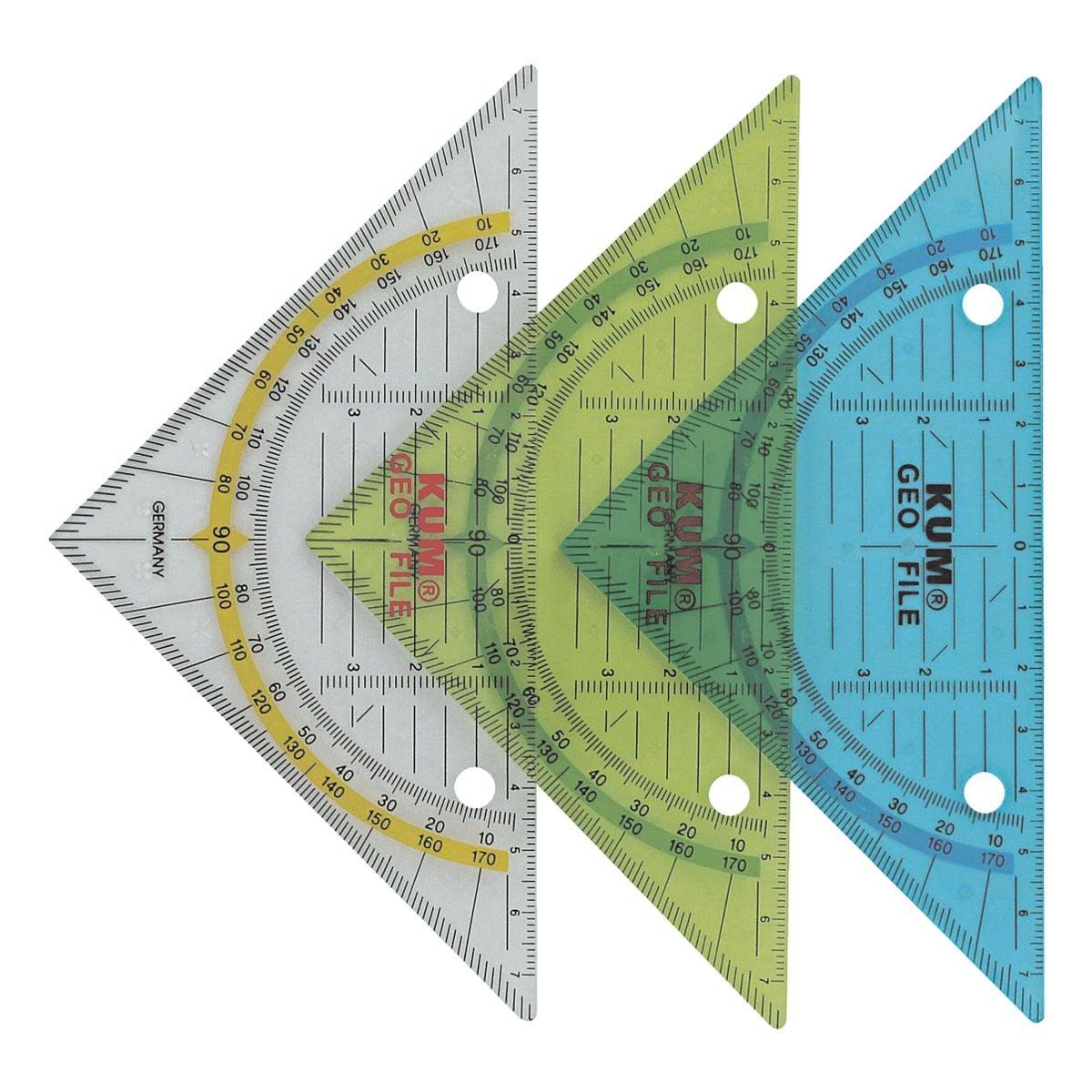 KUM Geometriedreieck 14 cm