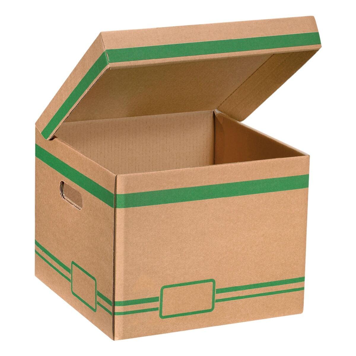 cartonia klappdeckel container mini bei otto office g nstig kaufen. Black Bedroom Furniture Sets. Home Design Ideas