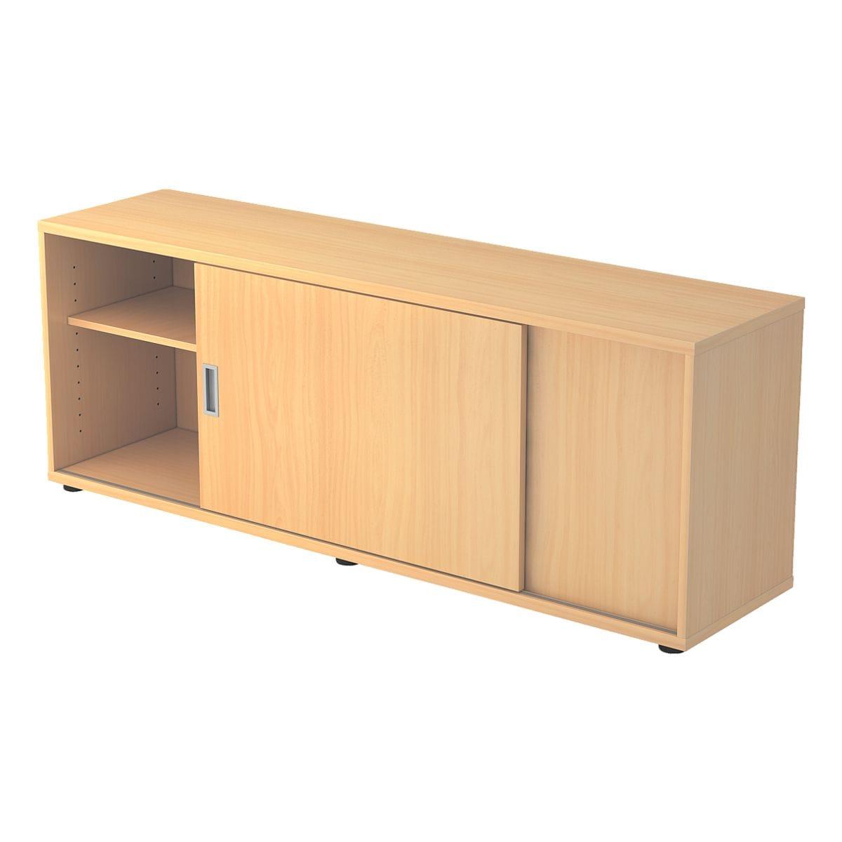 hammerbacher sideboard alicante mit klassischen schiebet ren bei otto office g nstig kaufen. Black Bedroom Furniture Sets. Home Design Ideas