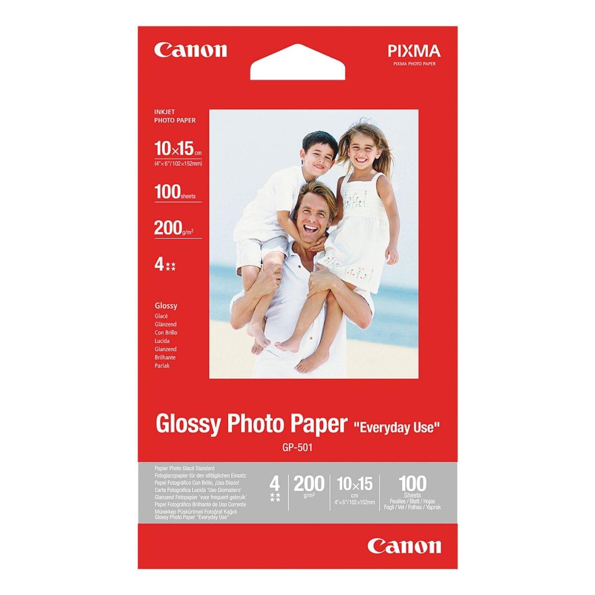 Canon Fotopapier »Glossy Photo Paper«