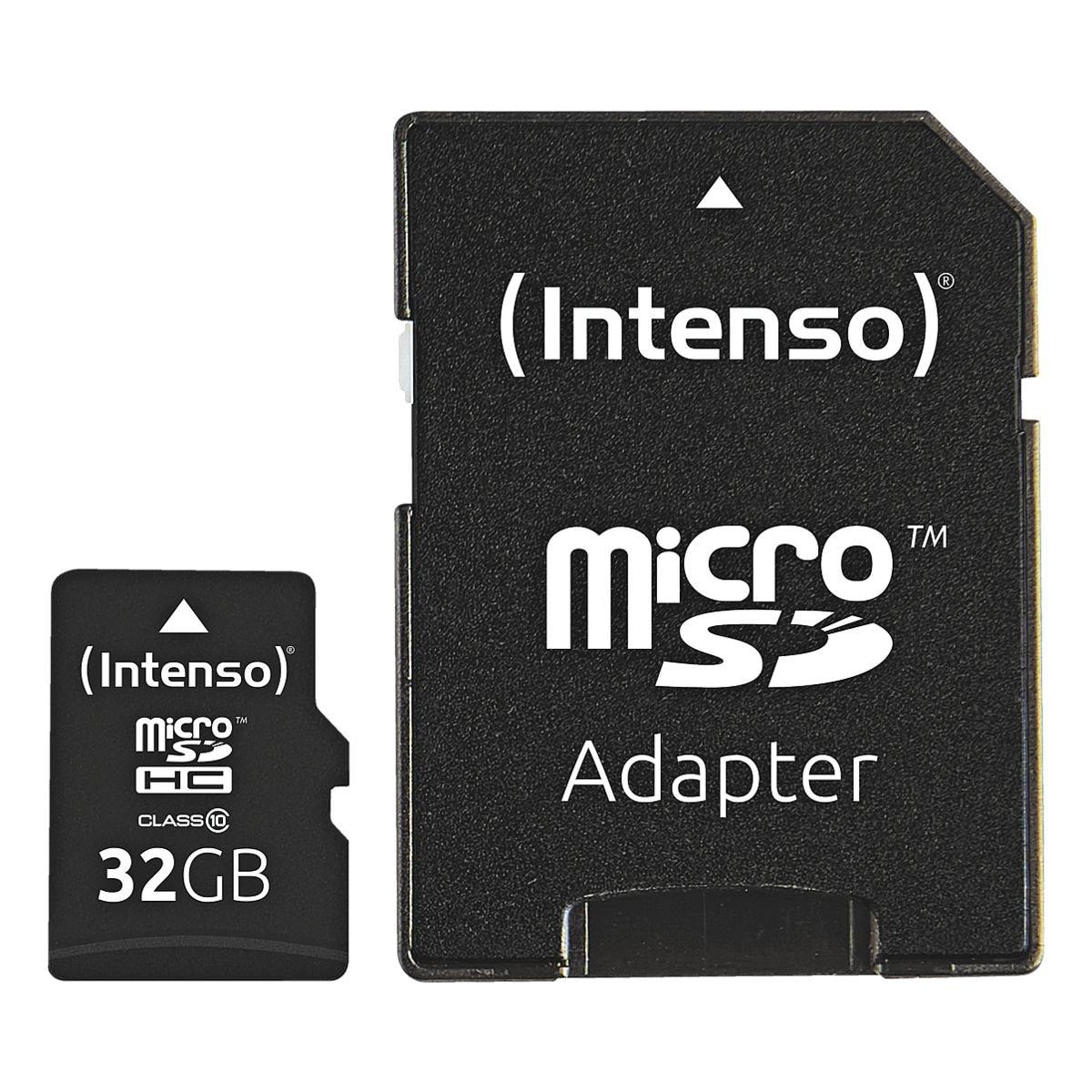 Intenso microSDHC-Speicherkarte »Intenso Class10 32GB«