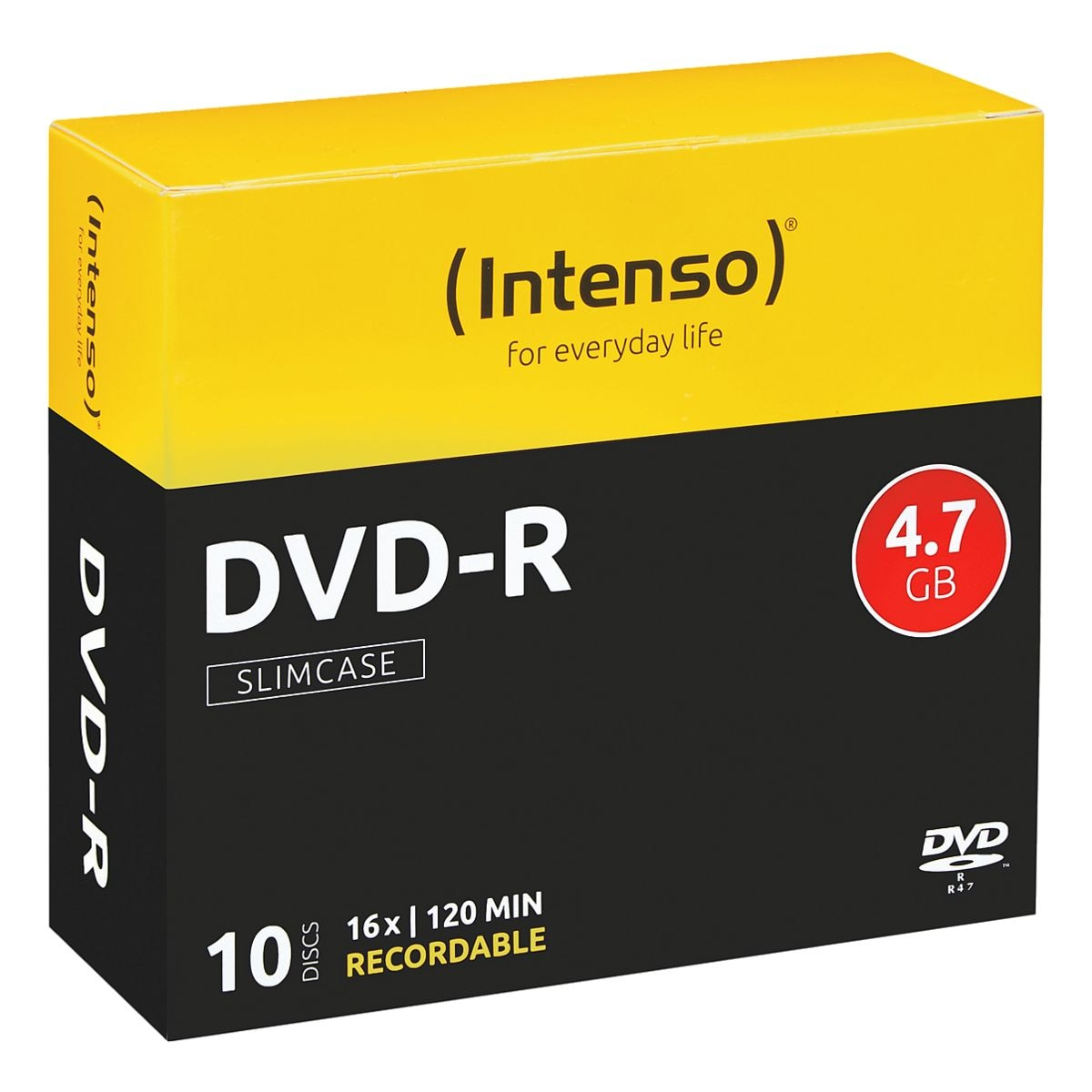 Intenso DVD-Rohlinge »DVD-R« 10 Stück