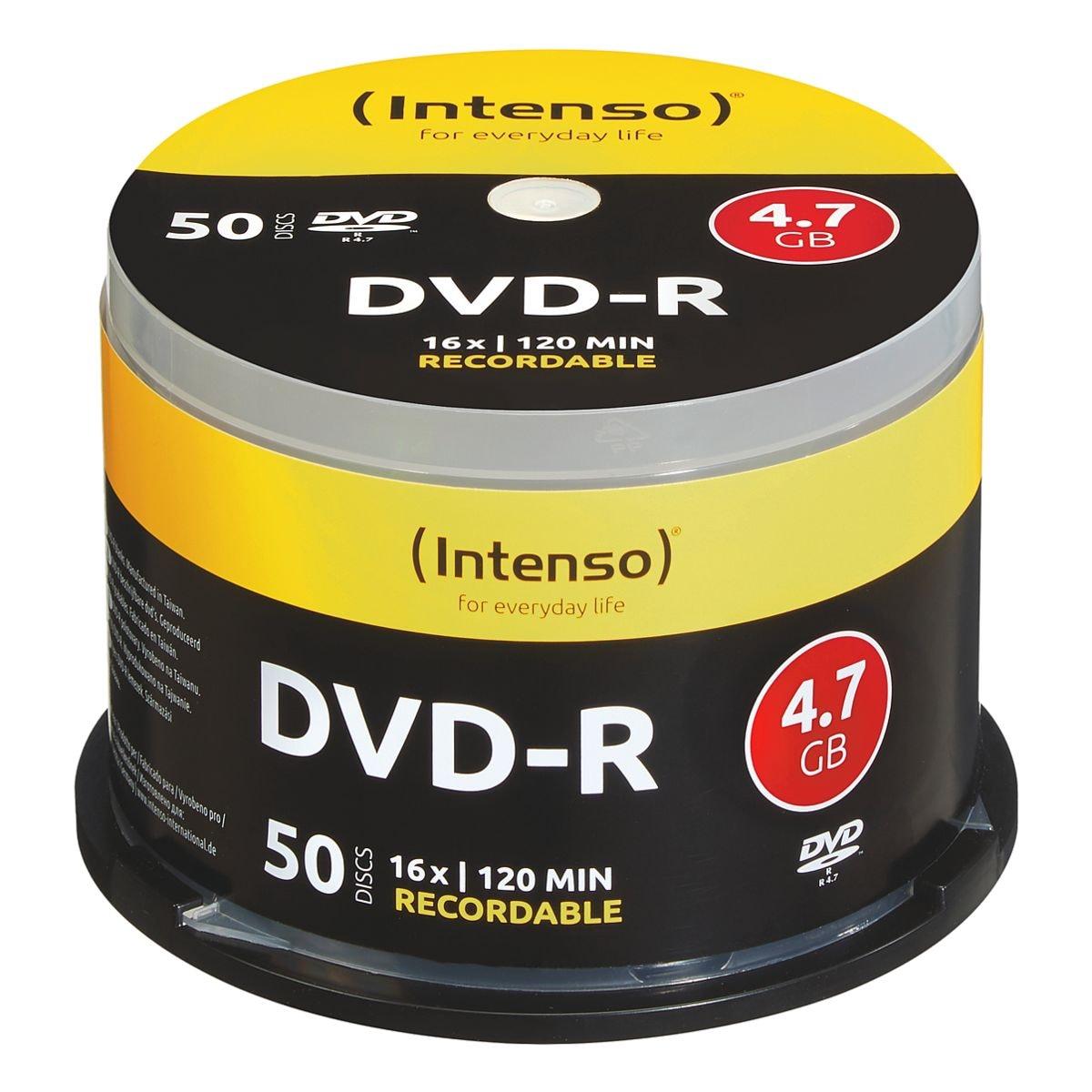 Intenso DVD-Rohlinge »DVD-R« 50 Stück