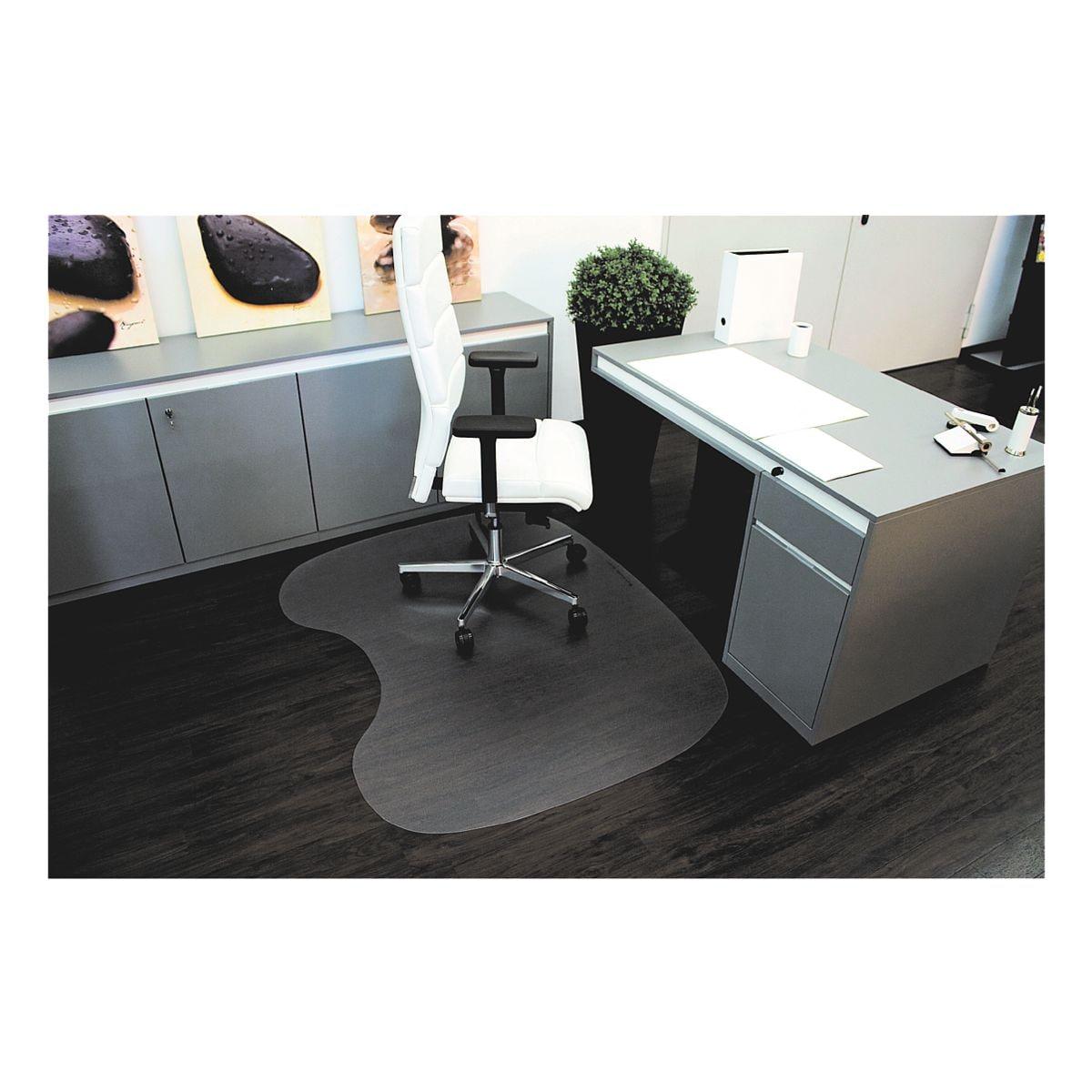 bodenschutzmatte f r hartb den makrolon sonderform n 120 x 150 cm rs office products ecogrip. Black Bedroom Furniture Sets. Home Design Ideas