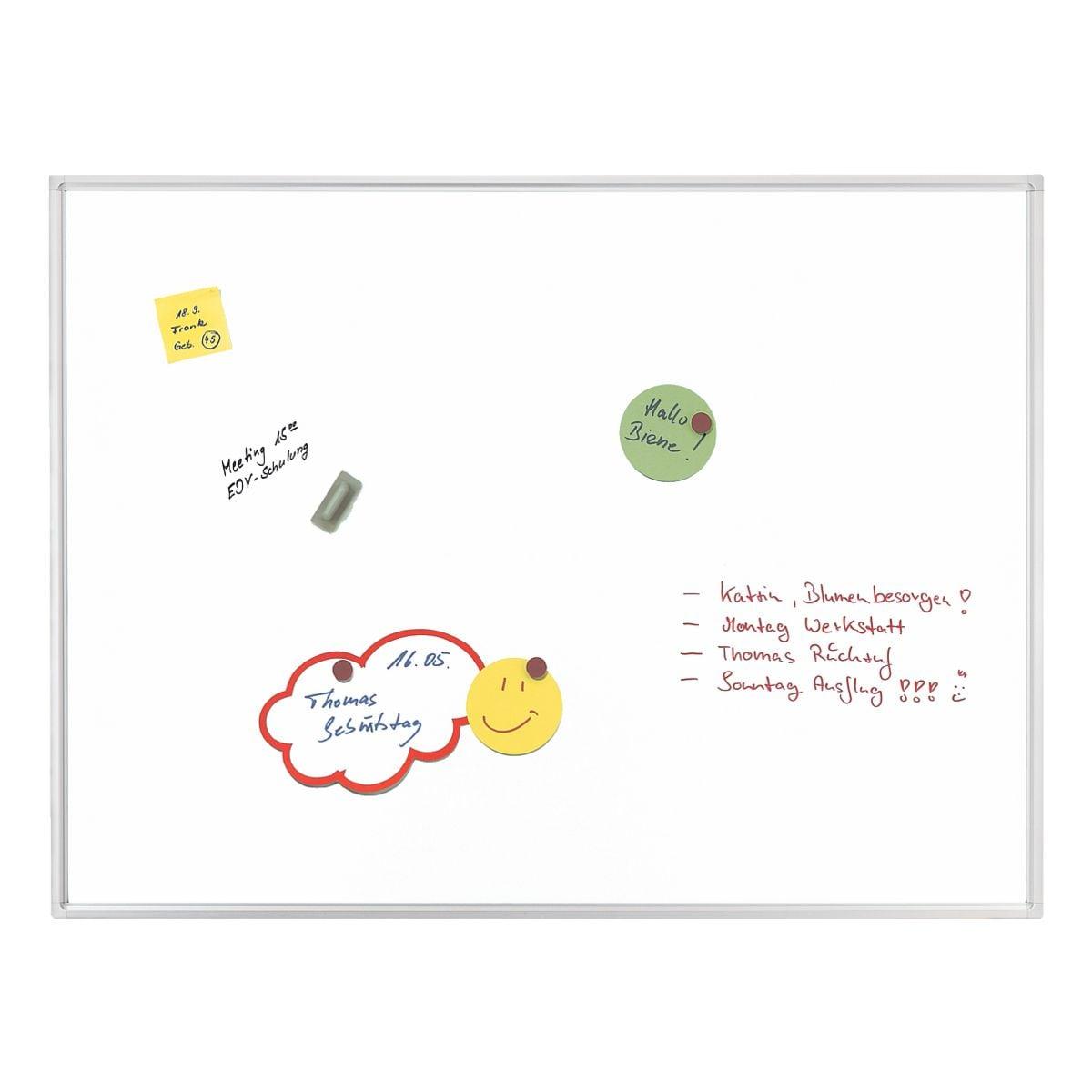 Whiteboard Franken ECO, 90 x 60 cm