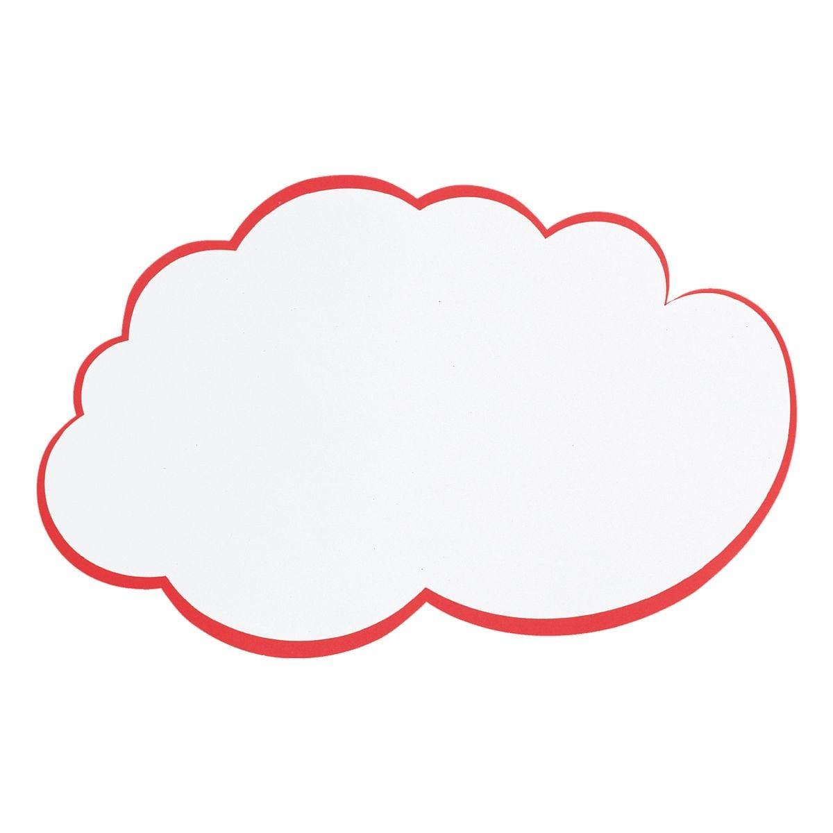 Franken Moderationskarten »Wolke groß UMZ WG« 37x62 cm