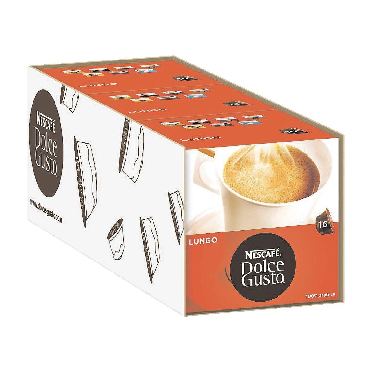 nescafe 3 packungen kaffeekapseln dolce gusto caff lungo bei otto office g nstig kaufen. Black Bedroom Furniture Sets. Home Design Ideas