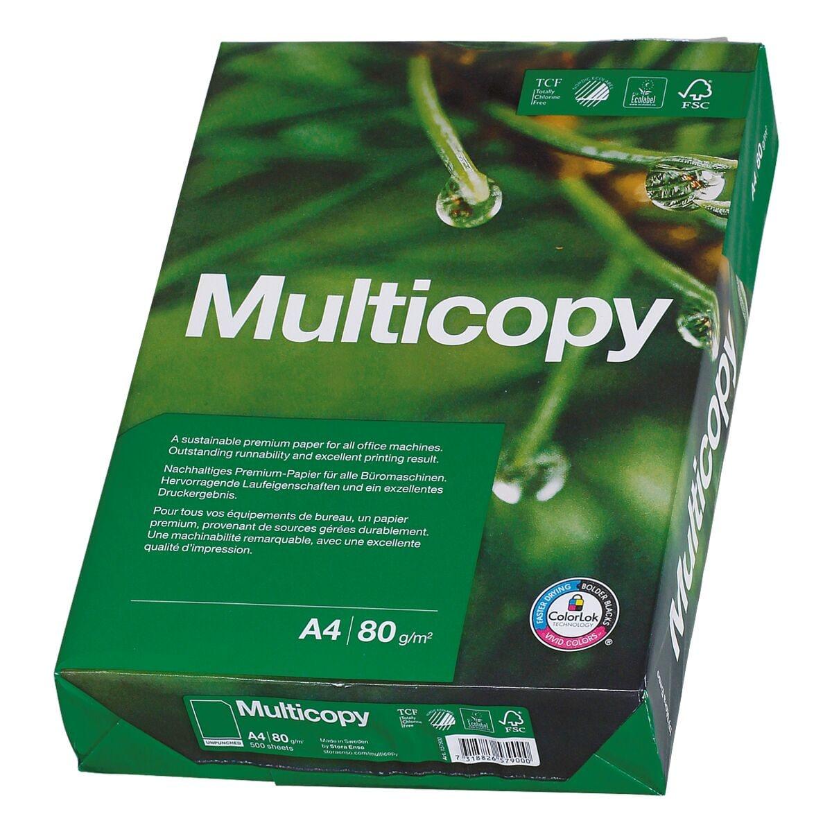 Multifunktionspapier A4 MultiCopy MultiCopy - 500 Blatt gesamt