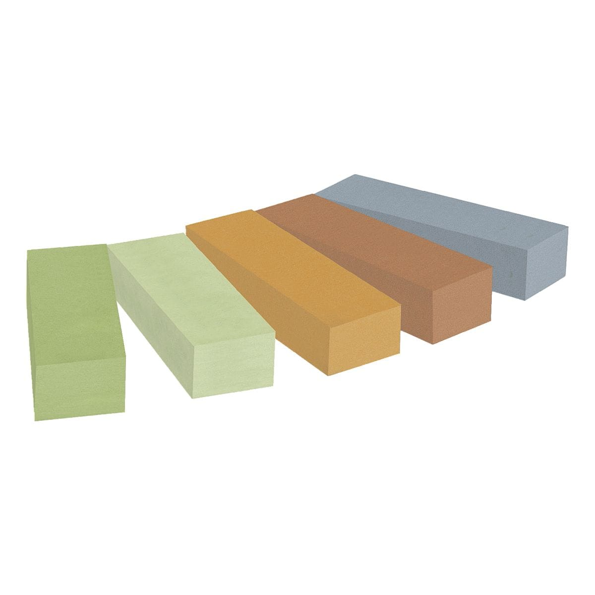 Post-it Notes Markers Haftmarker Pagemarker Recycling Mini 15 x 50 mm, Papier