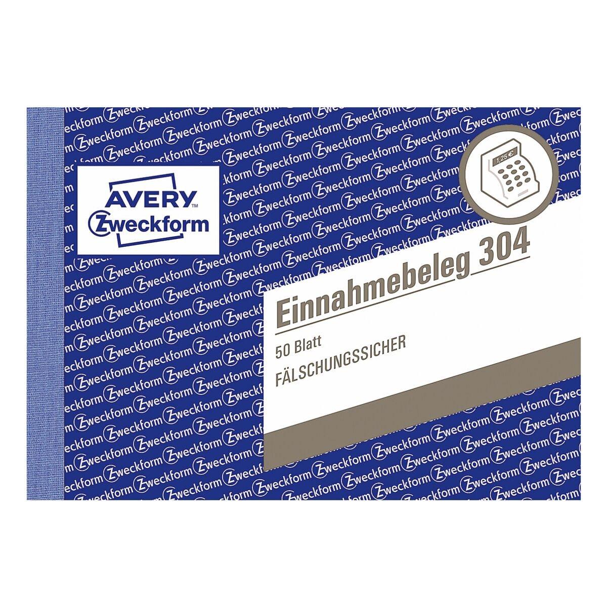 Avery Zweckform Formularbuch »Einnahmebeleg mit Dokumentendruck«