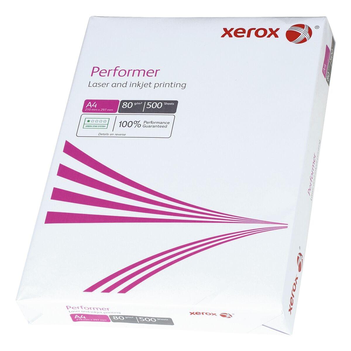 Kopierpapier A4 Xerox Performer - 500 Blatt gesamt, 80g/qm