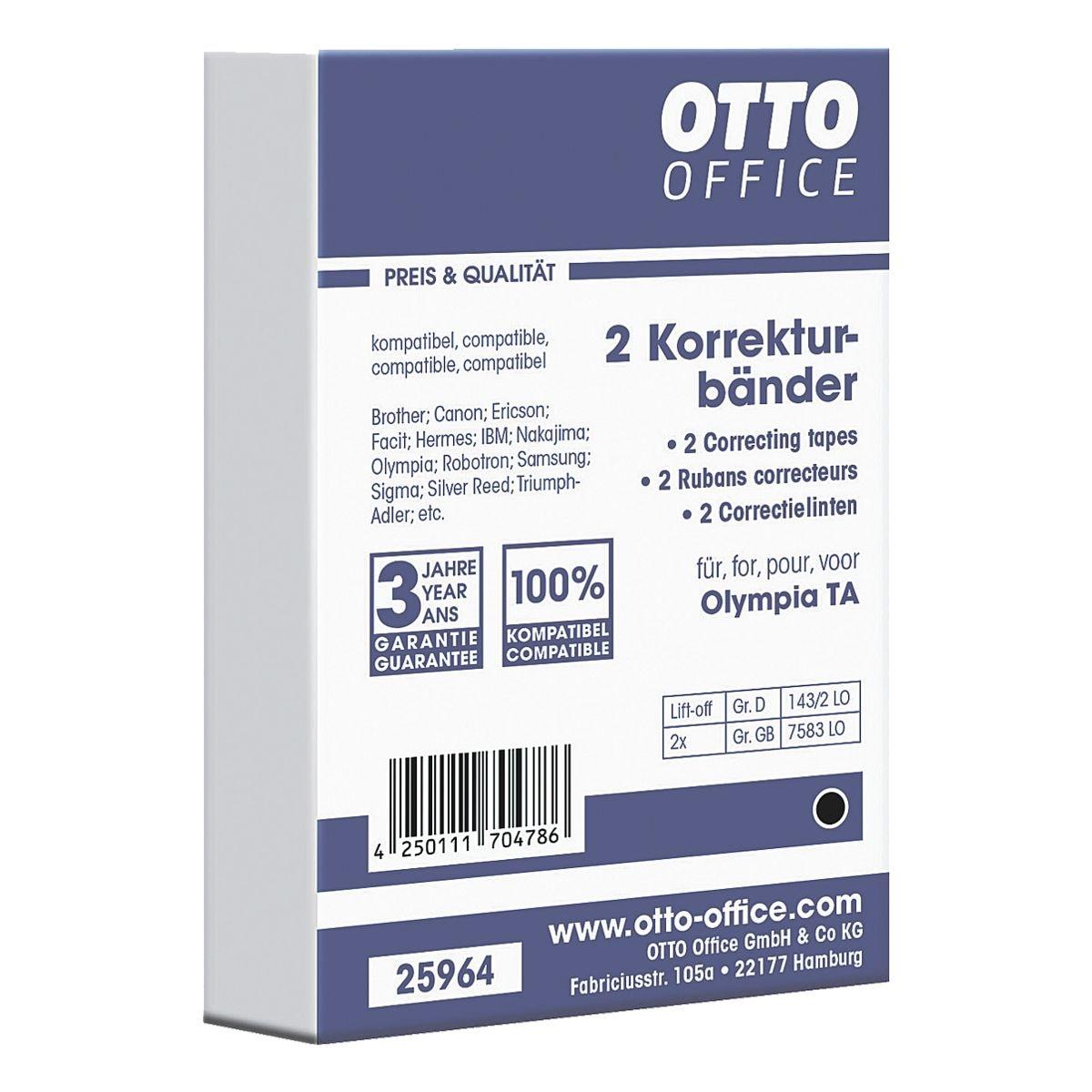 OTTO Office Schreibmaschinen-Korrekturbänder
