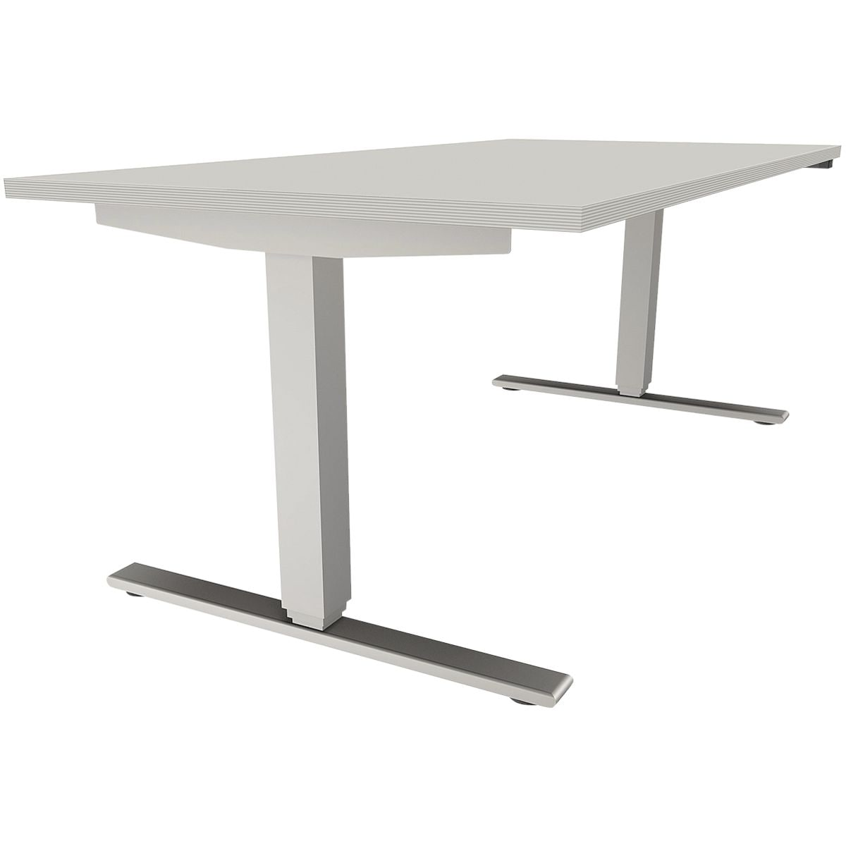 fm Büromöbel Schreibtisch »Oldenburg« 160 cm, T-Fuß ...