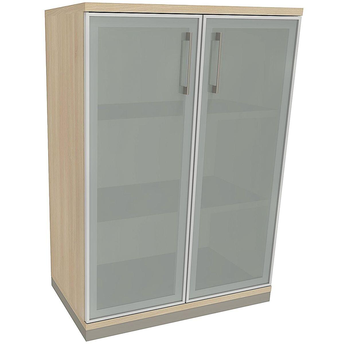 fm b rom bel aktenschrank oldenburg 3 oh satinierte acrylglast ren bei otto office g nstig. Black Bedroom Furniture Sets. Home Design Ideas