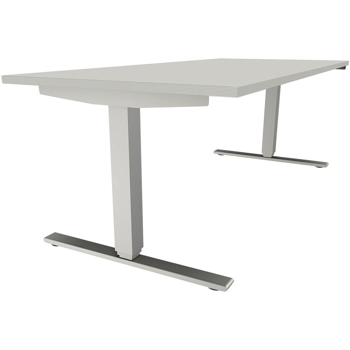 fm Büromöbel Schreibtisch höhenverstellbar (elektrisch) »Sidney« 180 ...
