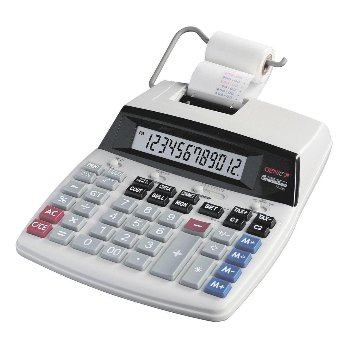 GENIE Druckender Tischrechner »D69 Plus«