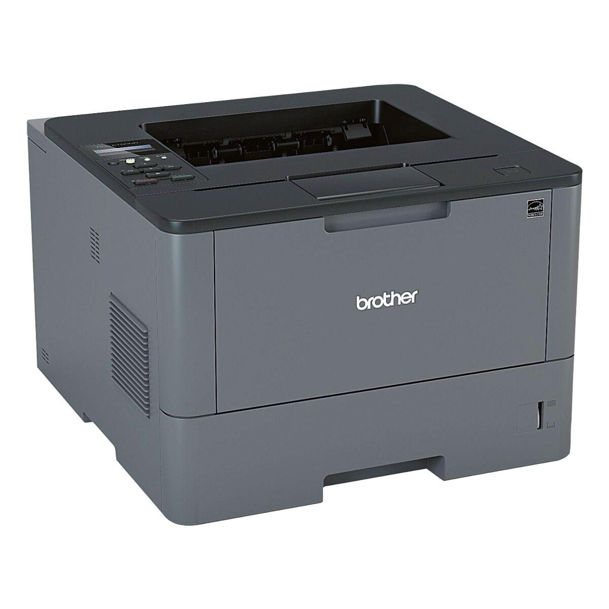 Brother HL-L5100DN Laserdrucker, A4 schwarz weiß Laserdrucker, 1200 x 1200 dpi, mit LAN