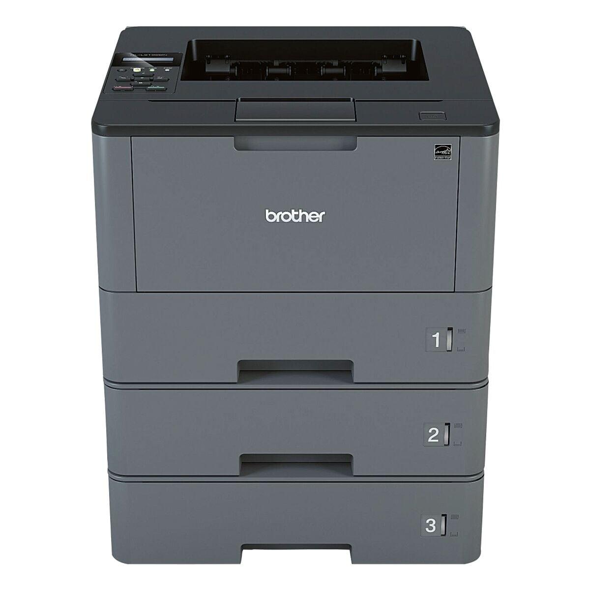 Brother HL-L5100DNTT Laserdrucker, A4 schwarz weiß Laserdrucker, 1200 x 1200 dpi, mit LAN