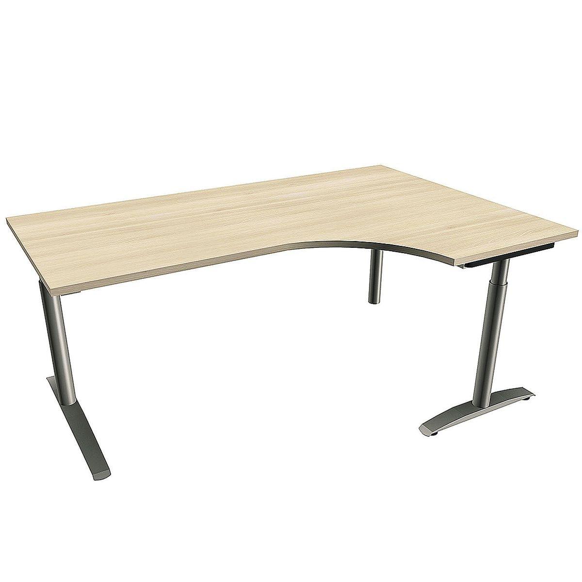 fm Büromöbel Schreibtisch »Sidney« 180 cm, C-Fuß ...
