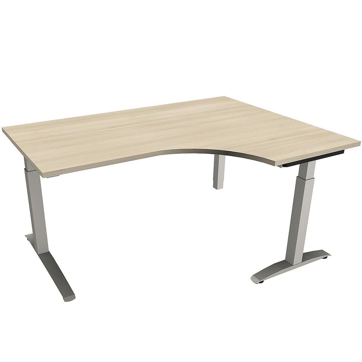 fm Büromöbel Schreibtisch »Sidney« 160 cm, C-Fuß ...