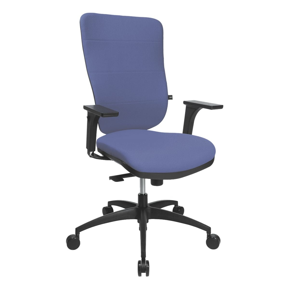 Bürostuhl Topstar »Soft Pro 100« ohne Armlehnen, Fußkreuz schwarz