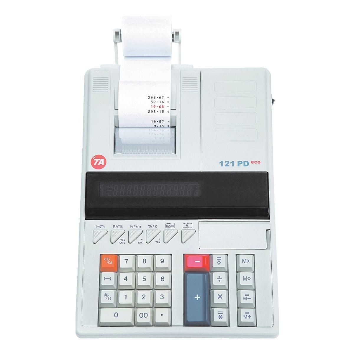Triumph Adler Druckender Tischrechner »TA 121 PD Eco«
