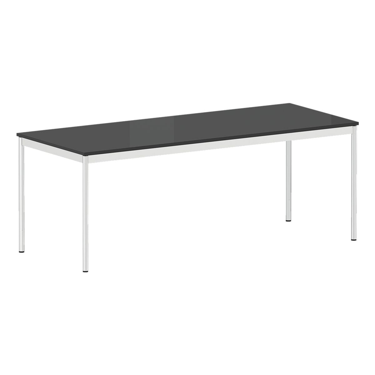 viasit schreibtisch system 4 200 cm 4 fu silber bei otto office g nstig kaufen. Black Bedroom Furniture Sets. Home Design Ideas