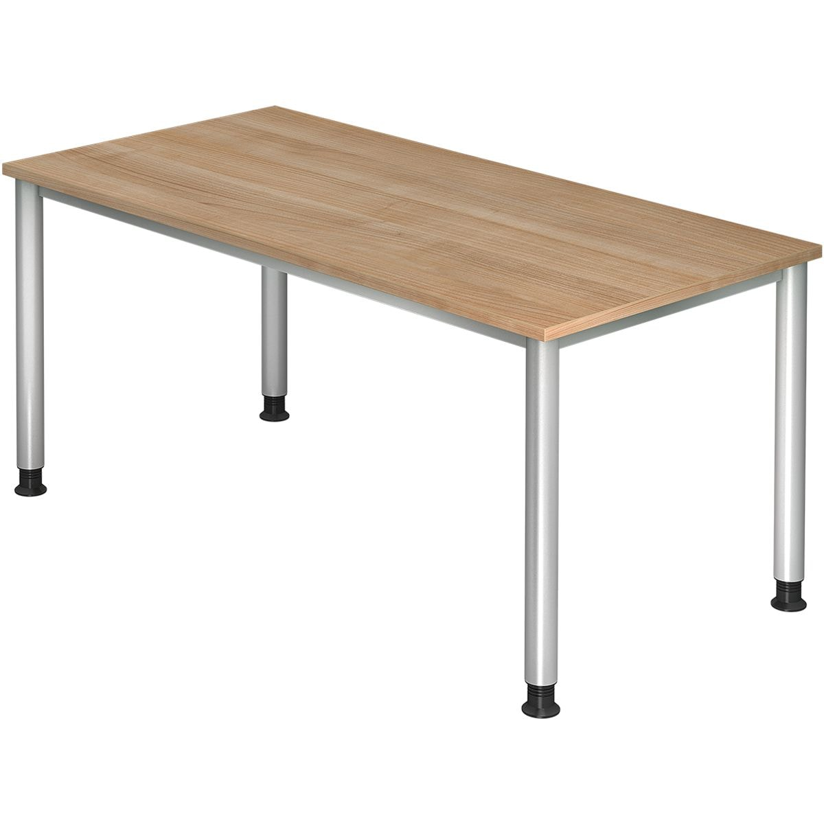 otto office premium schreibtisch otto office line iv 160 cm 4 fu silber bei otto office. Black Bedroom Furniture Sets. Home Design Ideas