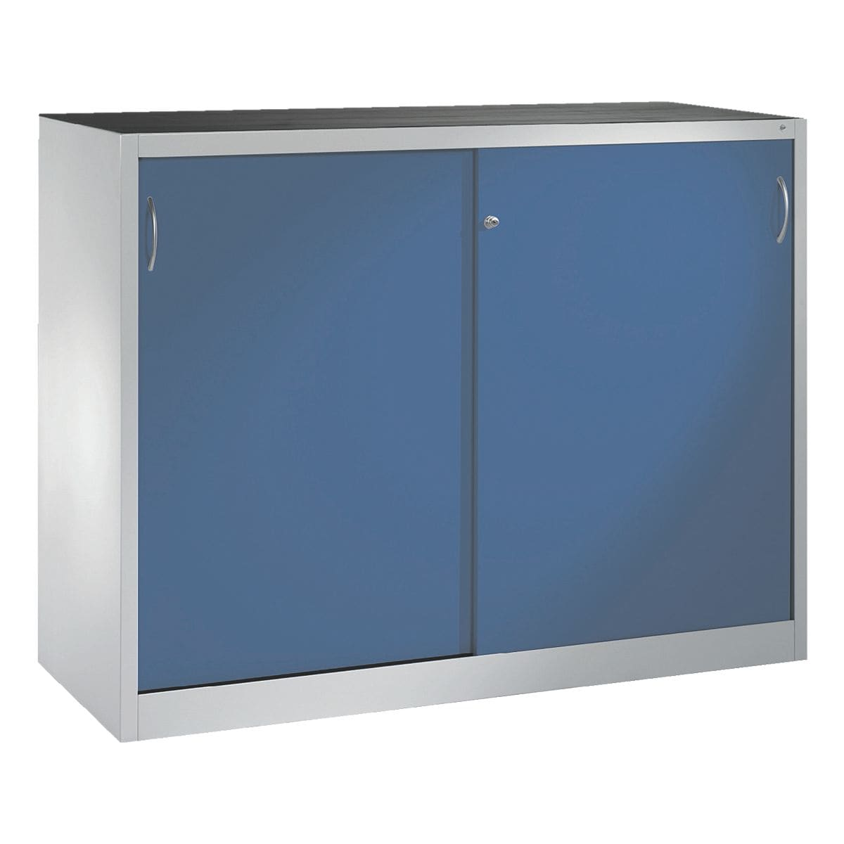 cp stahlschrank abschlie bar 160 x 120 cm schiebet r bei otto office g nstig kaufen. Black Bedroom Furniture Sets. Home Design Ideas