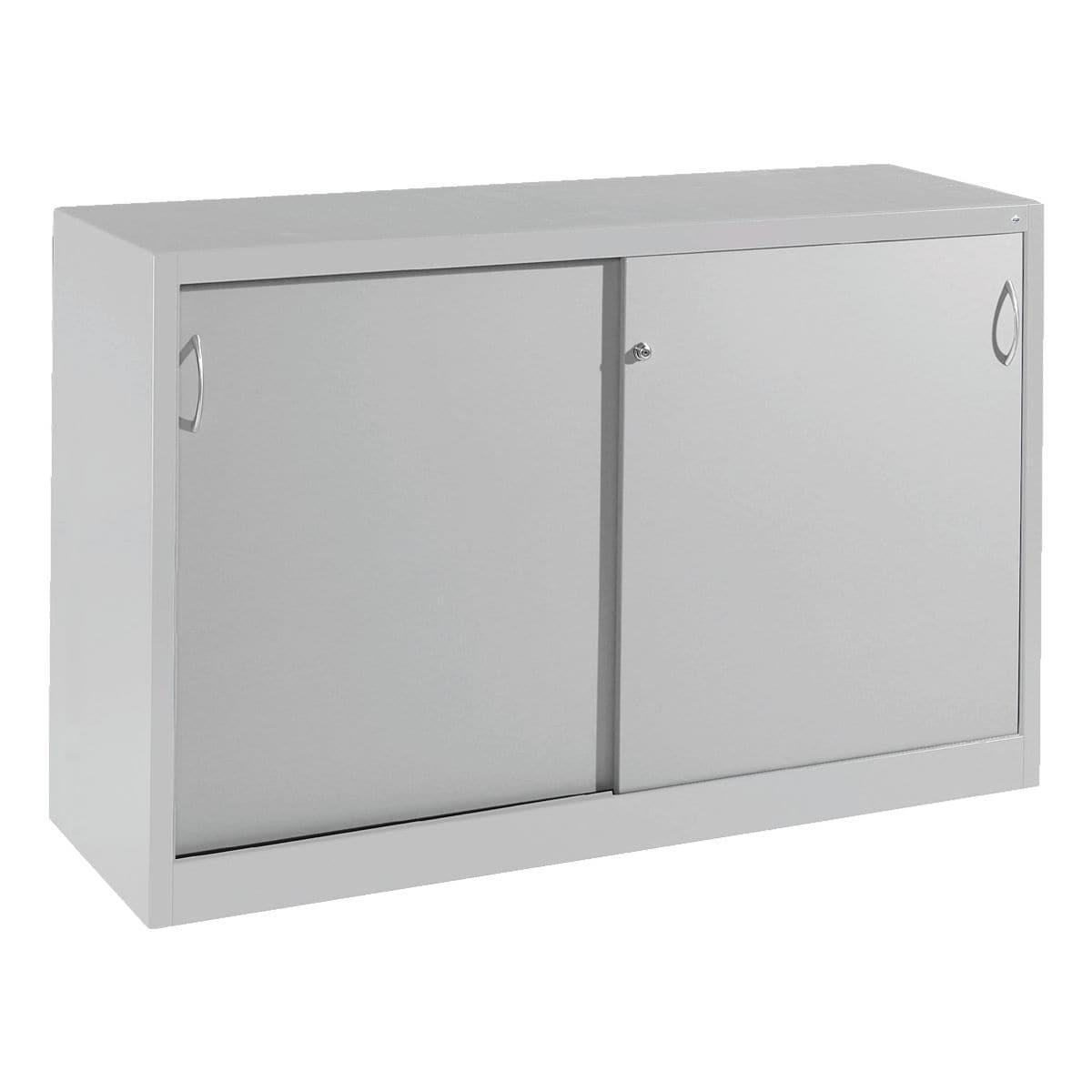 cp stahlschrank abschlie bar 160 x 100 cm schiebet r bei otto office g nstig kaufen. Black Bedroom Furniture Sets. Home Design Ideas