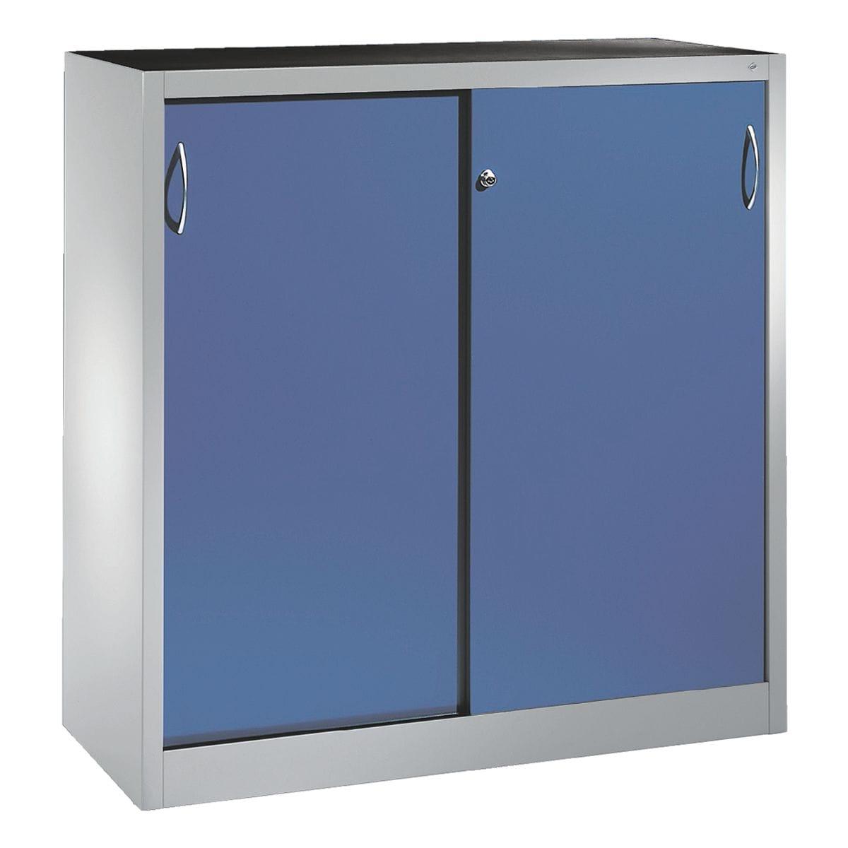 cp stahlschrank abschlie bar 120 x 120 cm schiebet r bei otto office g nstig kaufen. Black Bedroom Furniture Sets. Home Design Ideas