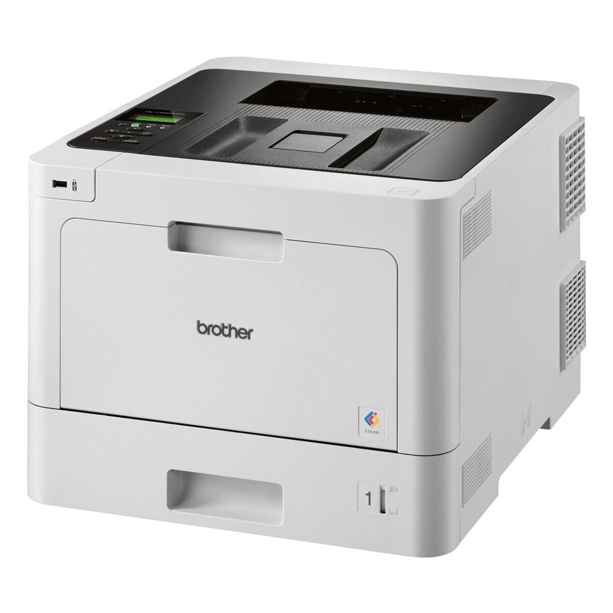 Brother HL-L8260CDW Laserdrucker, A4 Farb-Laserdrucker, 2400 x 600 dpi, mit LAN und WLAN