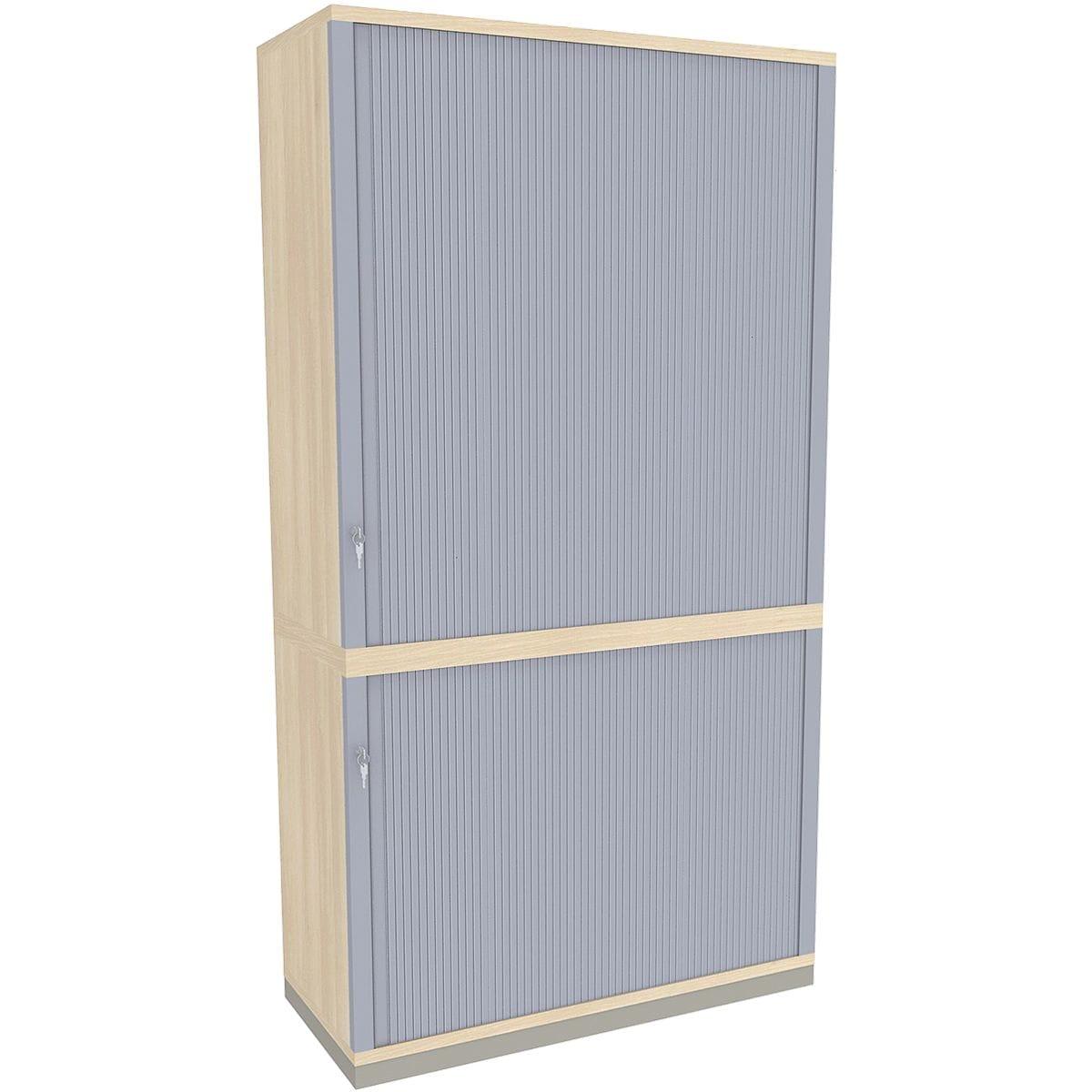 fm b rom bel querrollladenschrank sidney 2 3 oh 100 cm bei otto office g nstig kaufen. Black Bedroom Furniture Sets. Home Design Ideas