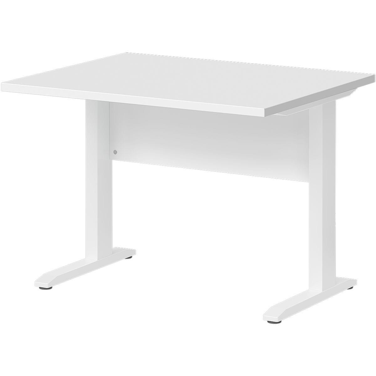 wellem bel schreibtisch planeo white 100 cm c fu wei bei otto office g nstig kaufen. Black Bedroom Furniture Sets. Home Design Ideas