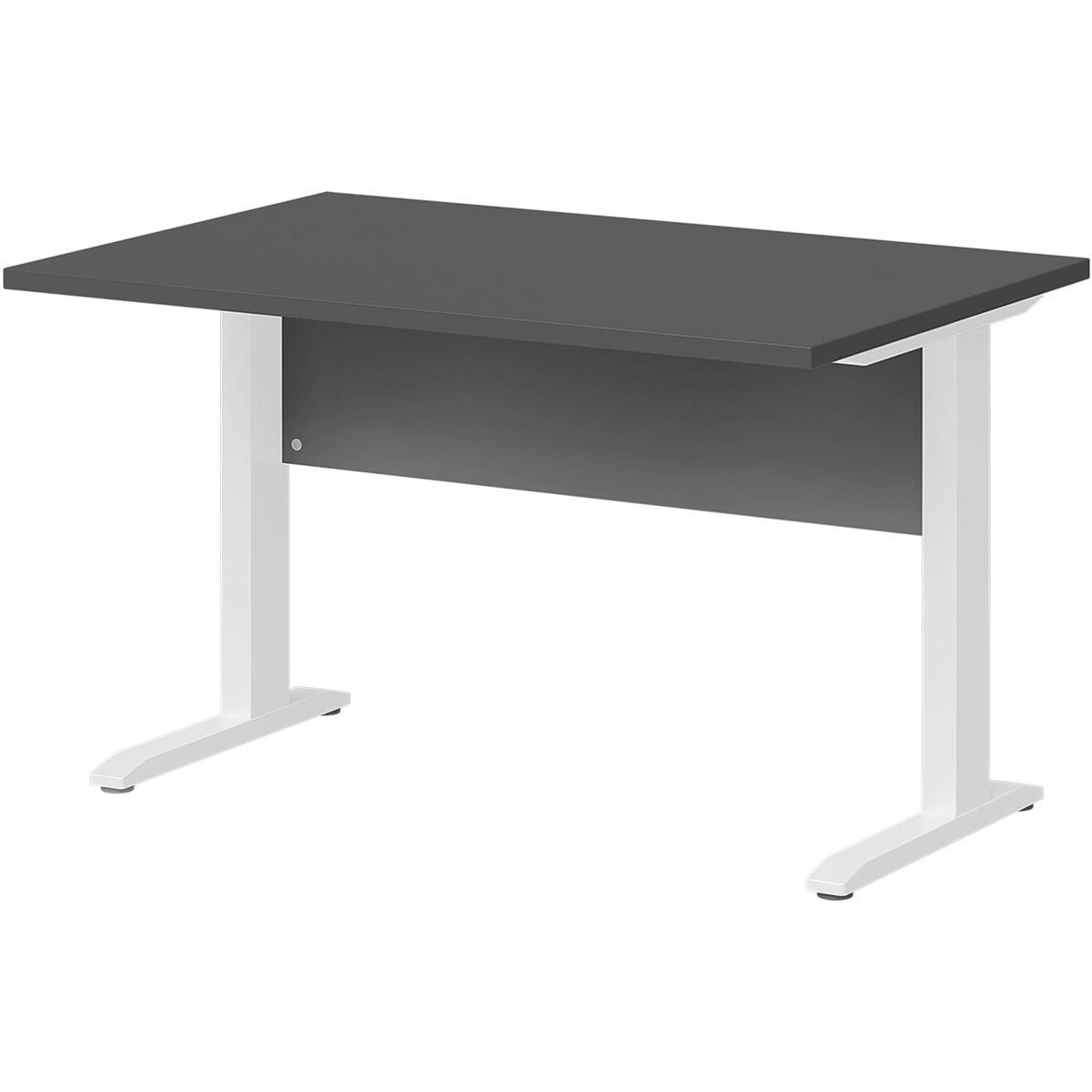 Wellemöbel Schreibtisch »Planeo white« 120 cm, C-Fuß weiß, Bei OTTO ...