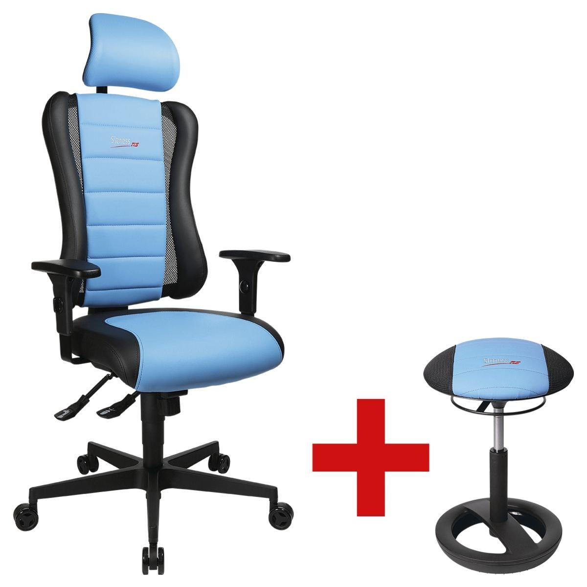 b rostuhl topstar sitness racer rs inkl sitzhocker sitness racer bob bei otto office. Black Bedroom Furniture Sets. Home Design Ideas