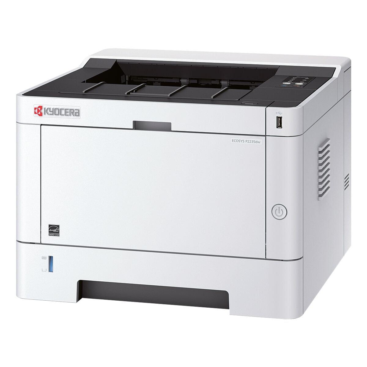 Kyocera ECOSYS P2235DW Laserdrucker, A4 schwarz weiß Laserdrucker, 1200 x 1200 dpi, mit WLAN und LAN