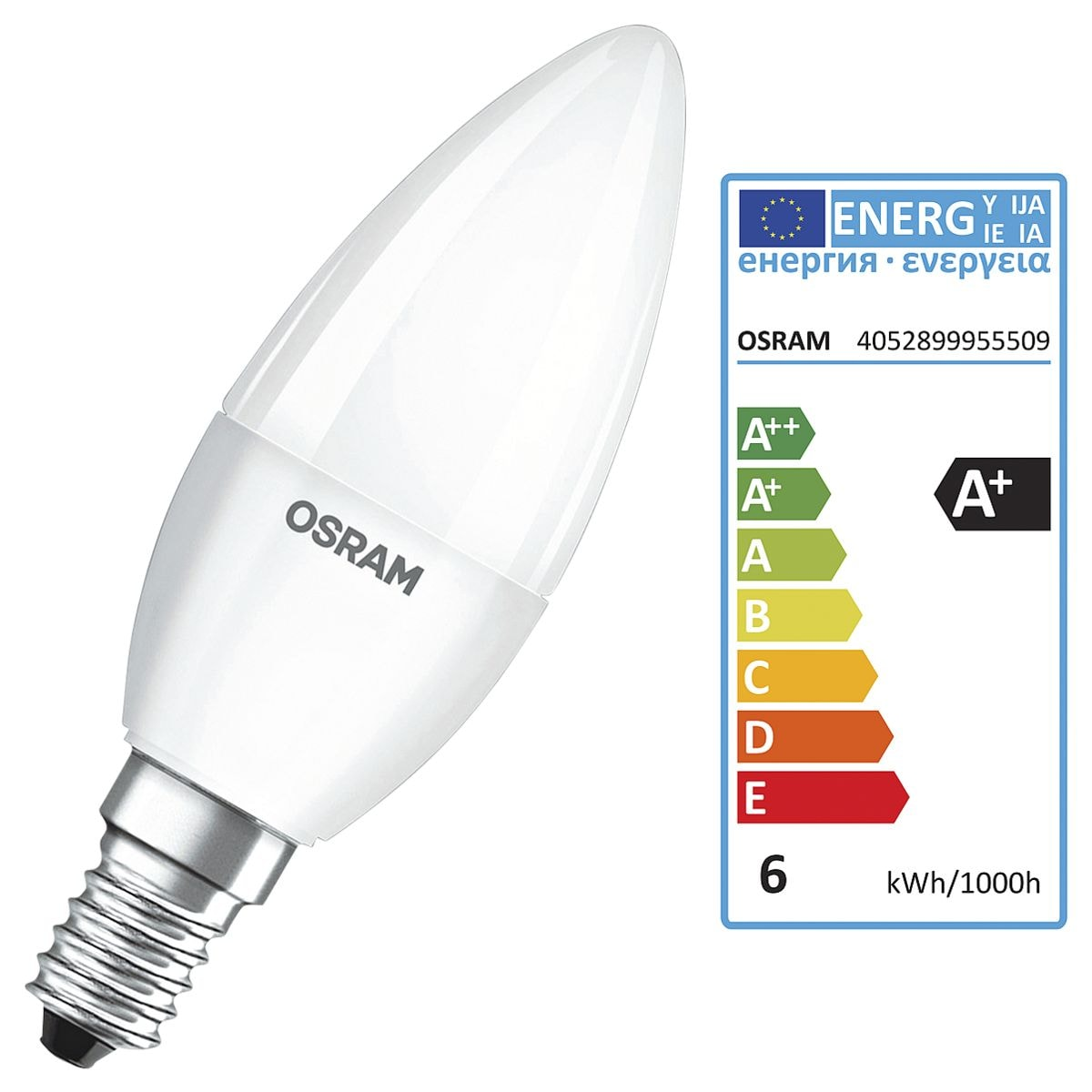 Osram LED-Lampe »Base Classic B«