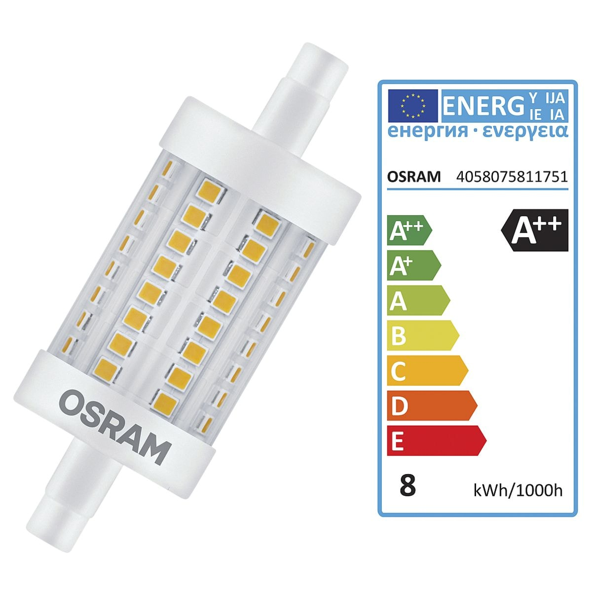 Osram LED- Speziallampe »Superstar Line R7s DIM«