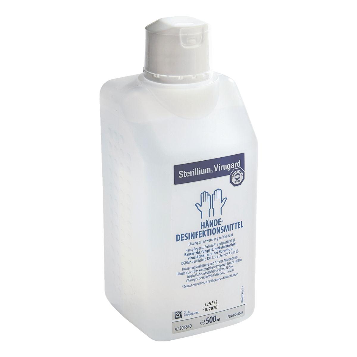 HARTMANN Handdesinfektionsmittel »Sterillium Virugard« 500 ml