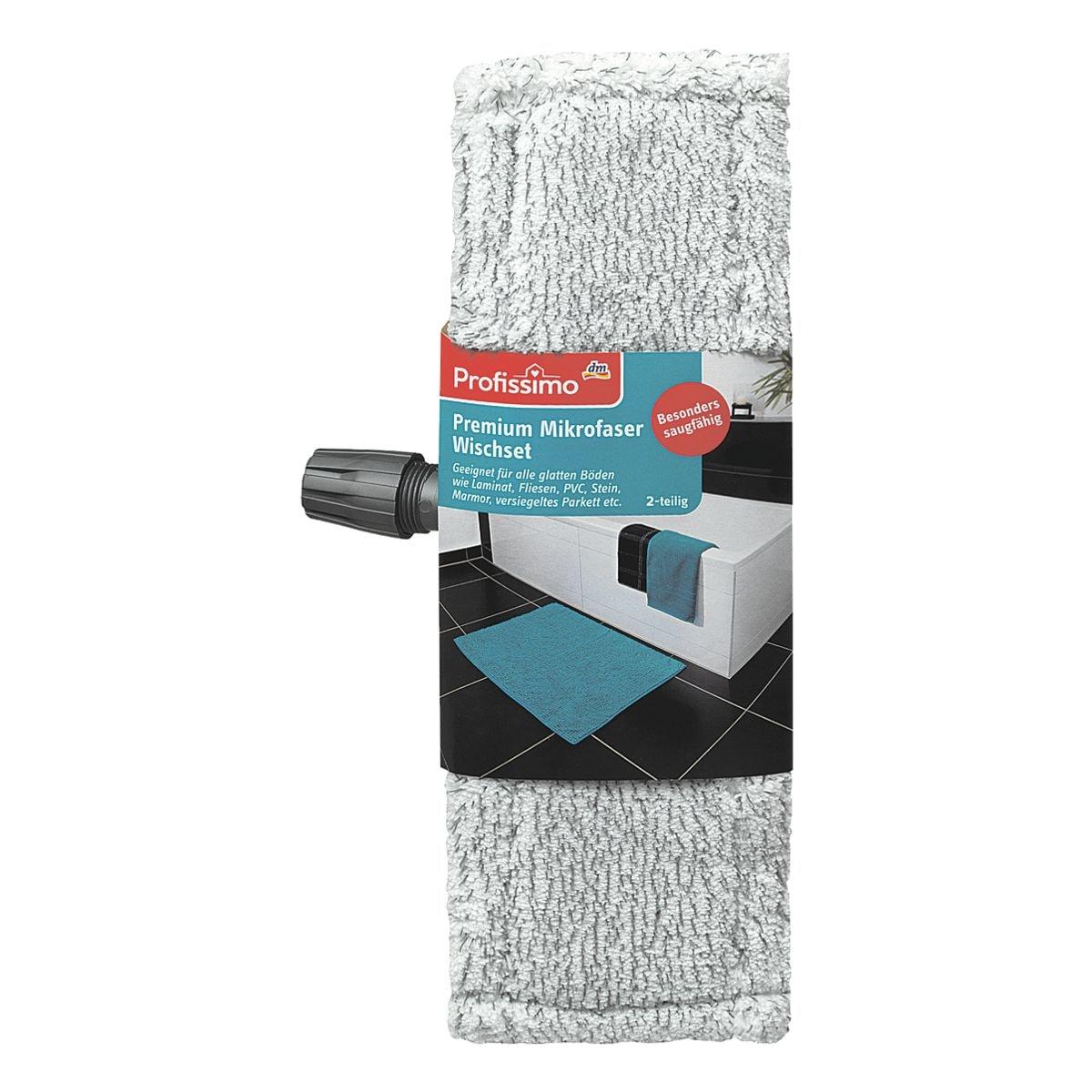 Profissimo 2tlg. Wischsysteme Premium Mikrofaser Wischset
