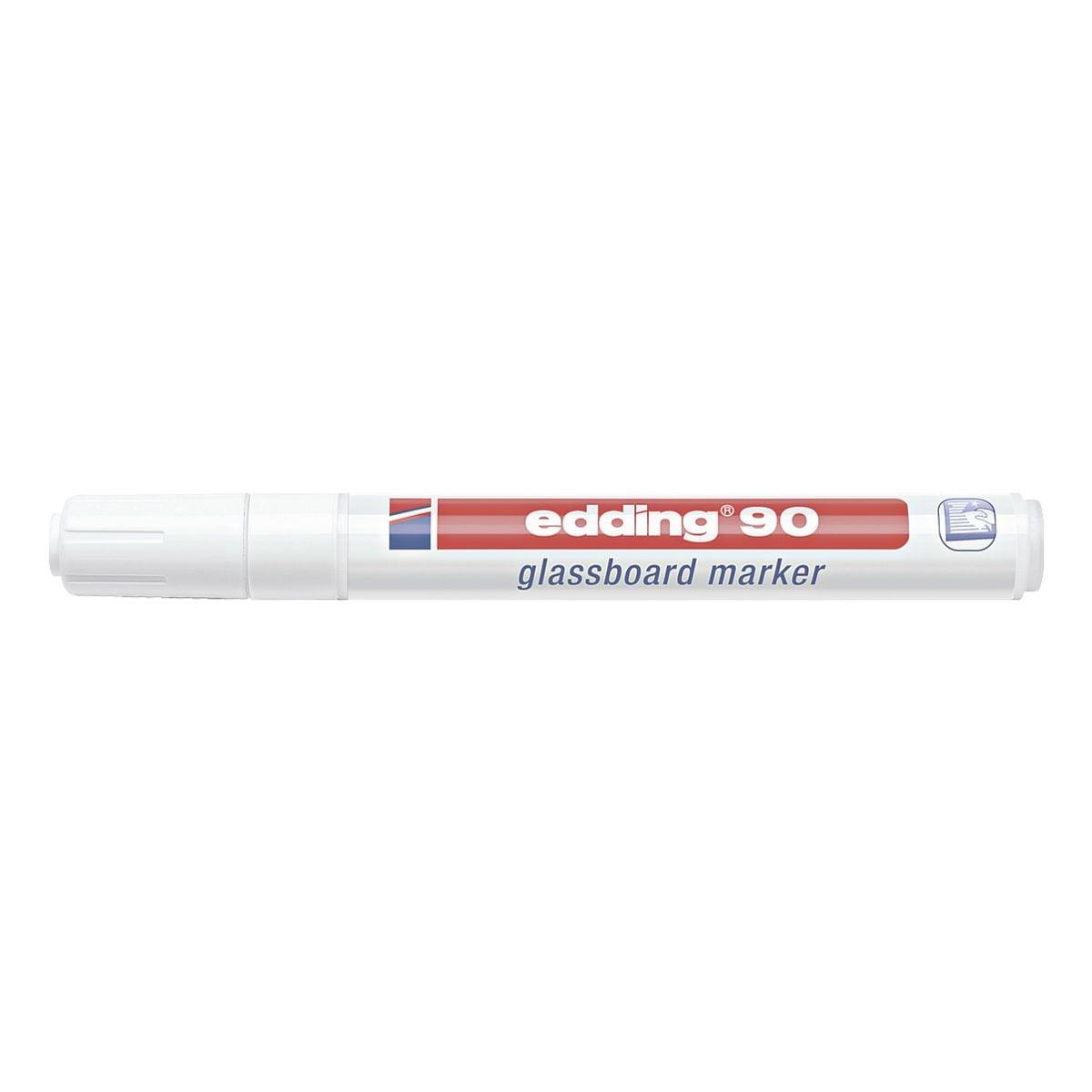 Edding Glasboard-Marker »e 90« weiß