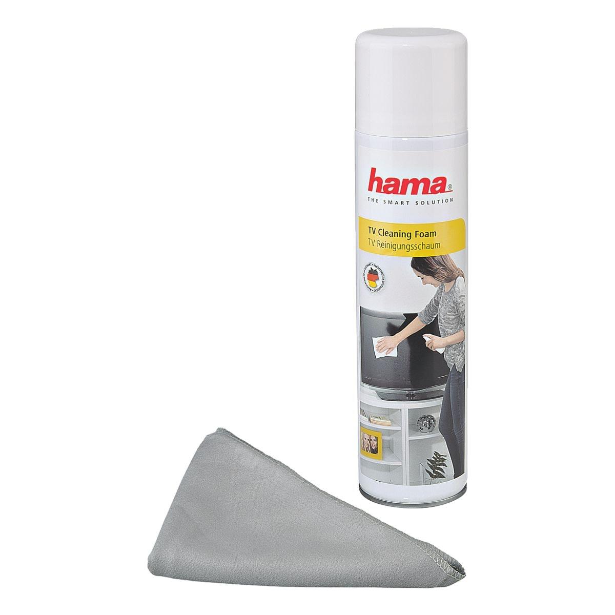 Hama TV-Reinigungsschaum mit Tuch