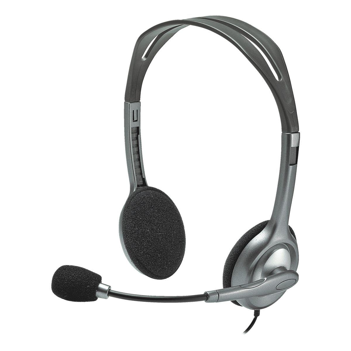 Logitech Stereo-Headset »H111« (981-000593)