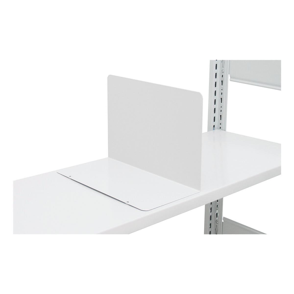 SCHULTE Lagertechnik Buchstütze für »Multiplus« Fachböden 30 cm