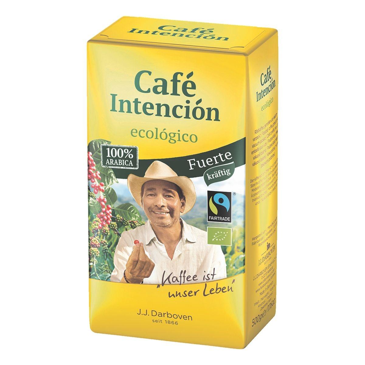 JJ.Darboven Bio-Kaffee »Café Intención ecológico Fuerte« - gemahlen